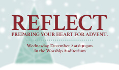 Reflect: Preparing Your Heart for Advent