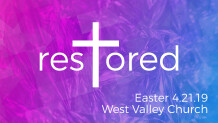 Restored - Easter Sunday